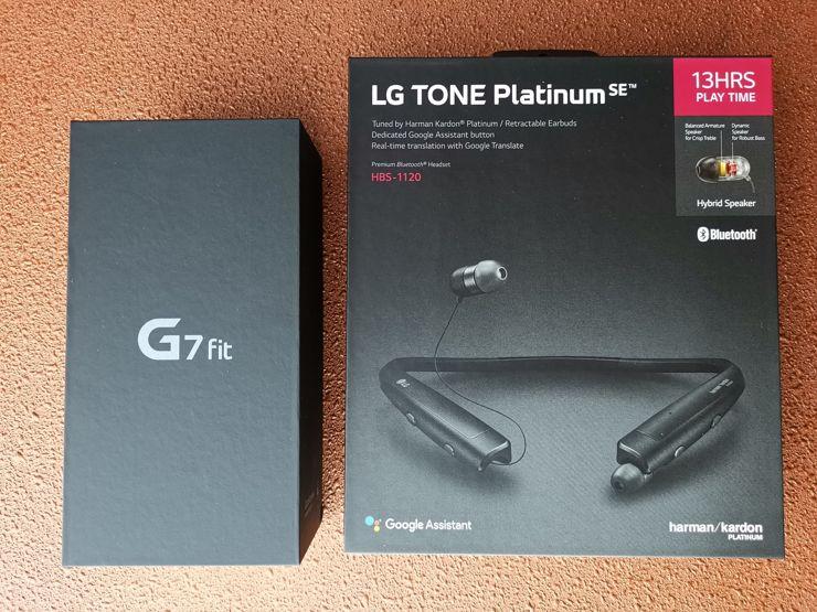 LG G7 Fit i LG Tone Platinum SE: zestaw promocyjny