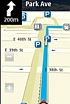 The new version of Ovi Map for Nokia mobiles with touch screen