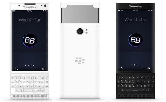 BlackBerry Slider vel Venice