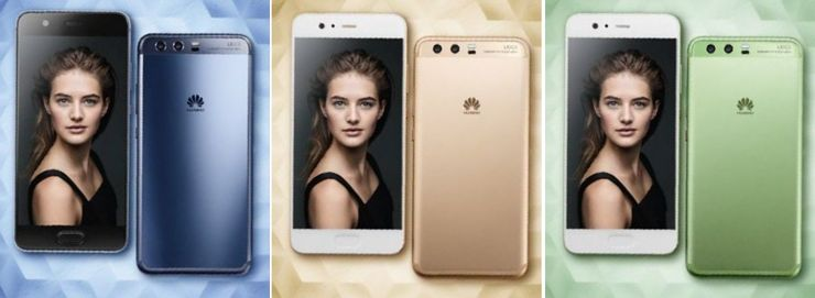 Wersje kolorystyczne Huawei P10