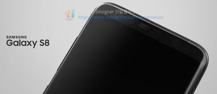 Wizja Samsung Galaxy S8