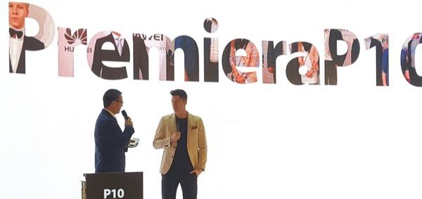 Ambasador marki na premierze