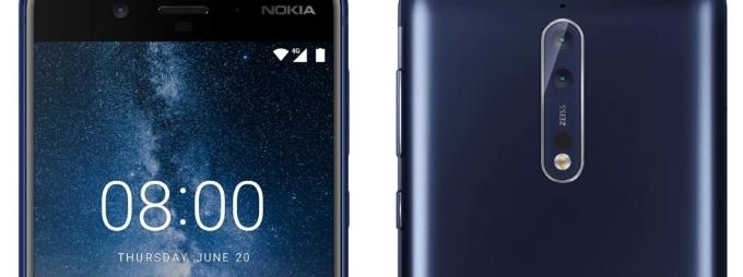 Nokia 8 hat seine offizielle Premiere am 16. August