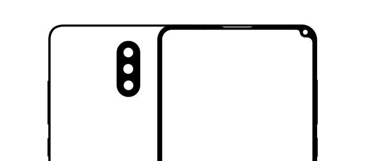 Umriss des Gehäuses vom Xiaomi Mi Mix 2S