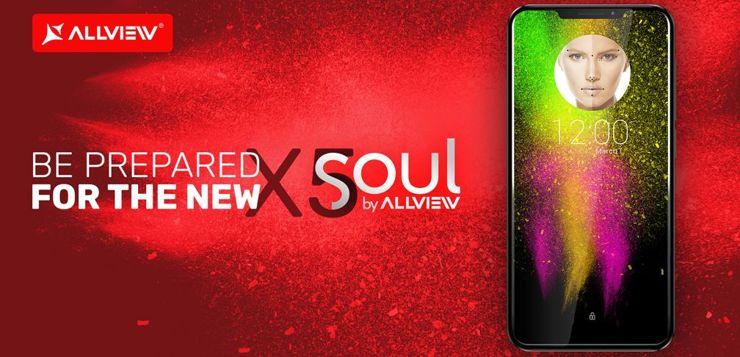 Allview zaprezentuje na MWC flagowy model X5 Soul
