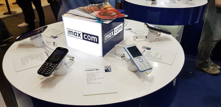 MaxCom zaprezentował szereg nowości na MWC 2018