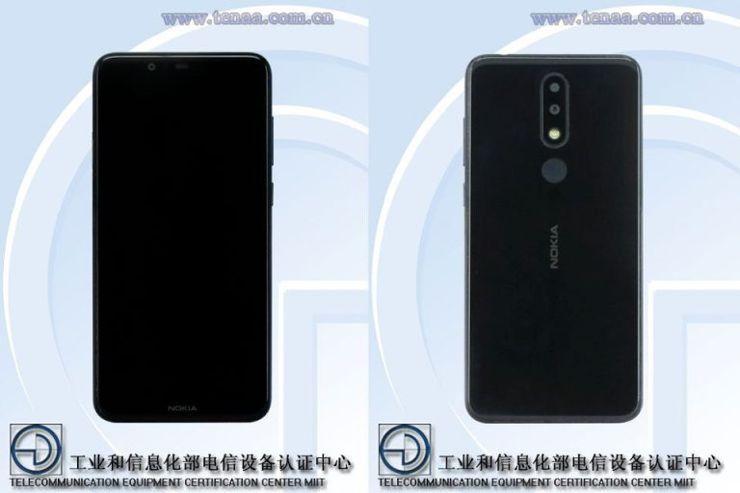 Nokia TA-1109 w TENAA