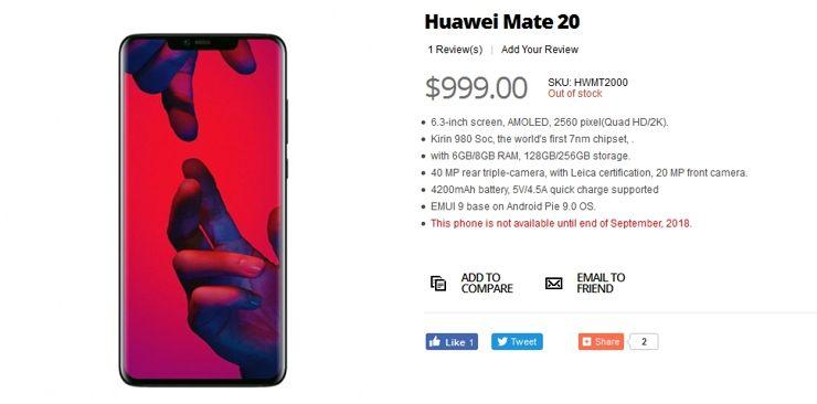 Huawei Mate 20 w sklepie Giztop