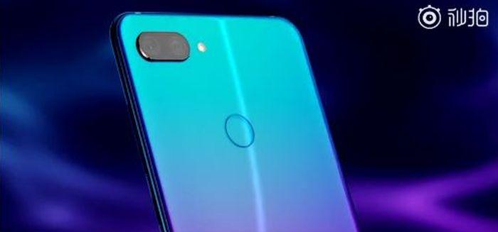 Xiaomi Mi 8 Youth w gradientowym odcieniu