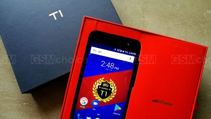 Ulefone T1 dla fanów kolorowych smartfonów
