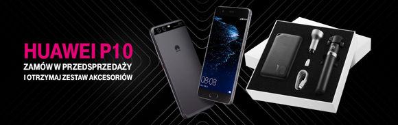 Huawei P10 i zestaw akcesoriów