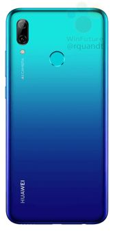 Huawei P Smart 2019 in gradient and black housing