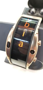 Nubia Alpha at the manufacturer's stand