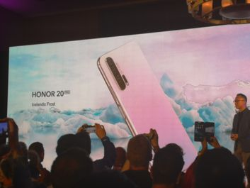 Honor 20 Pro in the new colour