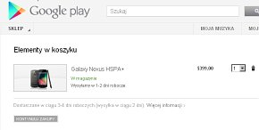Nexus in Play Store