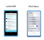 iPod vs Lumia
