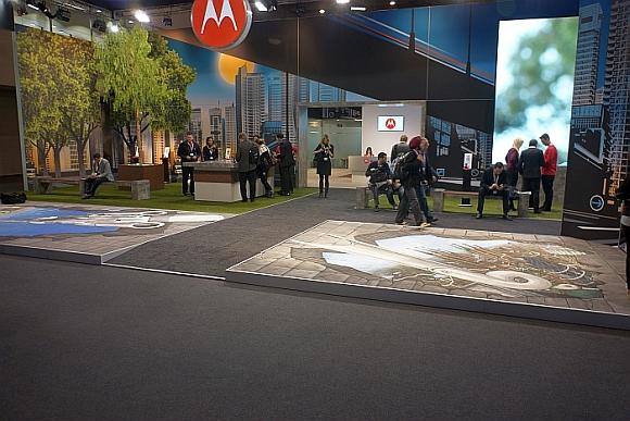 Motorola's stand
