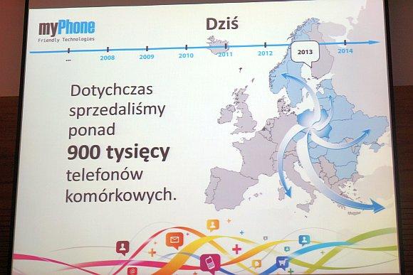 Konferencja prasowa myPhone