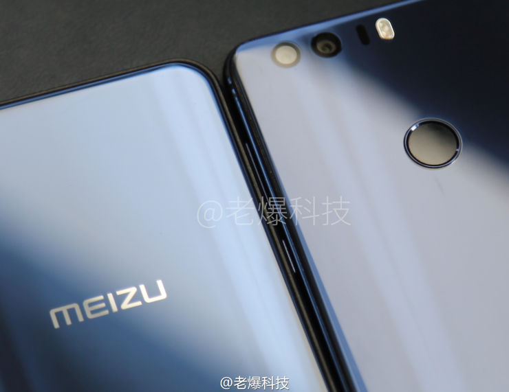 Meizu X i Honor 8