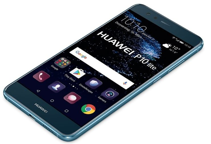 Huawei P10 Lite w błękicie