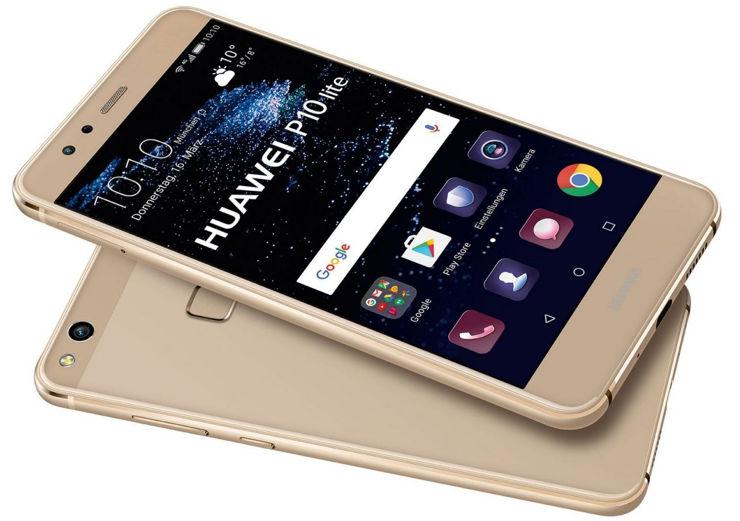 Huawei P10 Lite - złoty