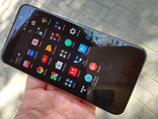 HTC U11 - menu, zasobnik, pamięć