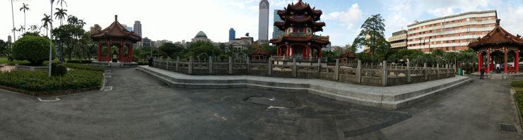 Panorama wykonana HTC U11