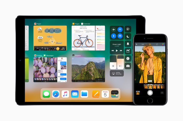 The look of iOS11