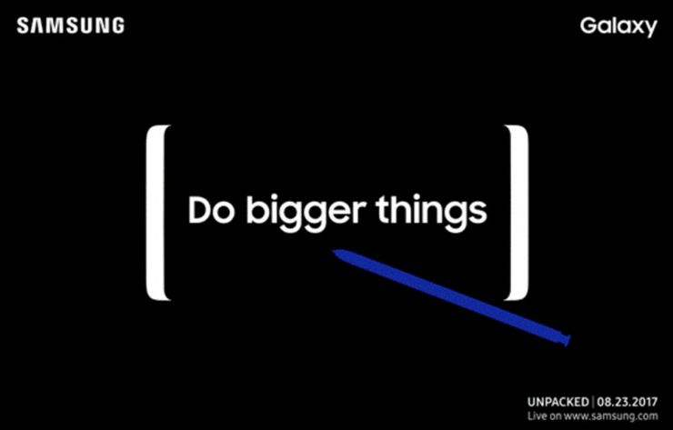 Informationen über das Samsung Unpacked
