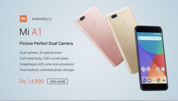 Der Preis und die Erreichbarkeit des Xiaomi Mi A1