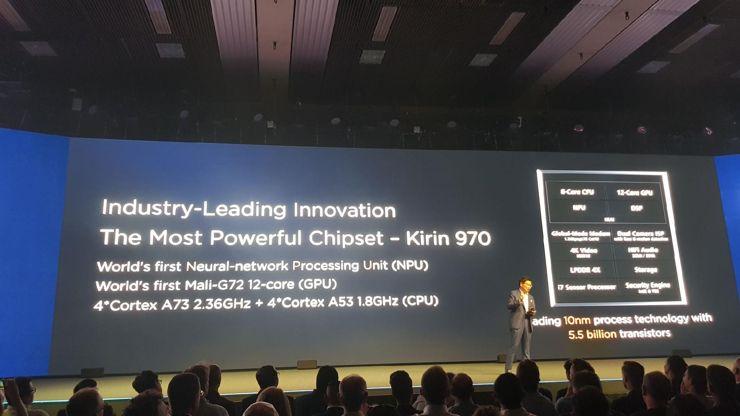 Kirin 970 - pierwszy procesor z układem NPU