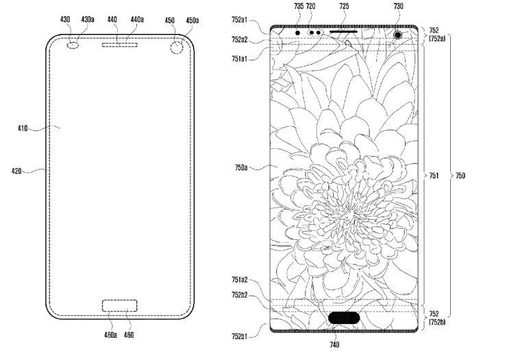 Szkic z wniosku patentowego Samsunga