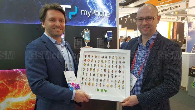 myPhone otrzymał przed rokiem nagrodę European Android Awards