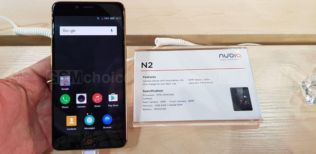 MWC18: Nubia