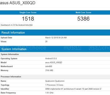 Xiaomi Mi7, Asus Zenfone 5 Max i dwie wersje Samsunga Galaxy J8+ w Geekbench