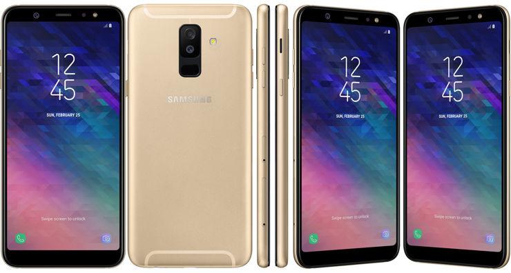 Samsung Galaxy A6 i Samsung Galaxy A6+ nie będą się różnić wyglądem - a jedynie rozmiarem
