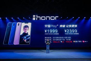 Premiera smartfona Honor Play z GPU Turbo