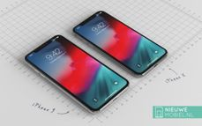 This is how the iPhone 9 might look like against the current iPhone X