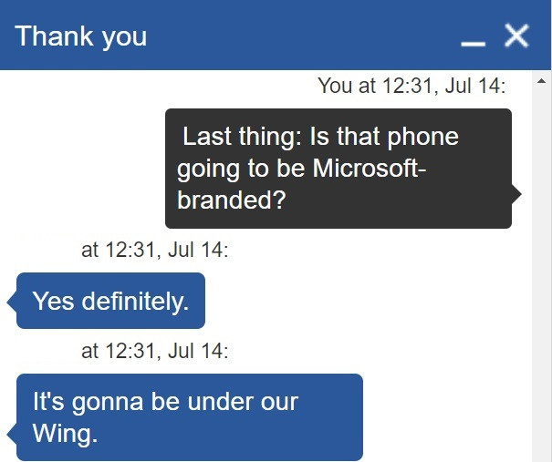 Zapis rozmowy Windowslatest z Microsoft Store
