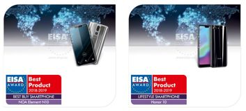 Smartfony nagrodzone przez EISA