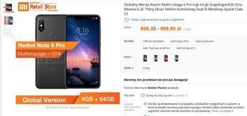 Xiaomi Redmi Note 6 Pro w sklepie