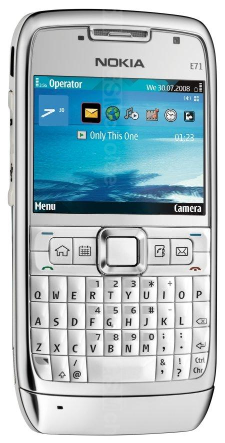Major update for Nokia E71 now available