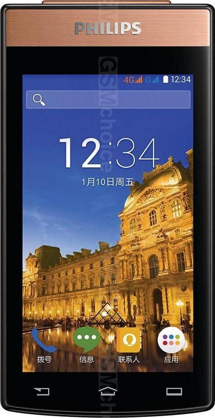 Porównanie rozmiarów telefonów : Philips V989 :: mGSM.pl