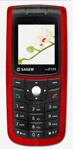 Sagem my212X