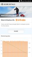 Tryby pracy baterii, wynik w PC Mark i czasu pracy z włączonym ekranem (SoT)