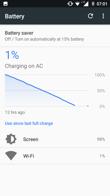 Energieverwaltung, Arbeitszeit mit einem aktiven Display und Ergebnis von PC Mark battery work