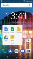 Aplikacje startowe, zasobnik, foldery, ostatnie, OTA