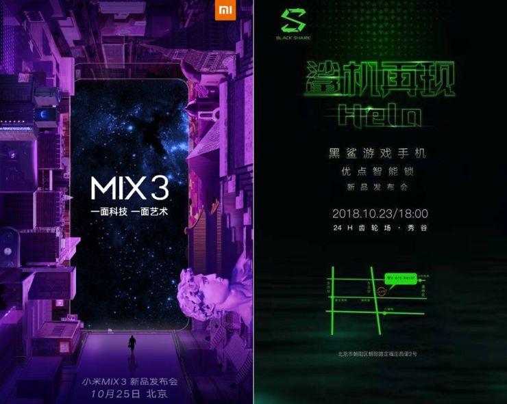 Zapowiedzi premier Xiaomi