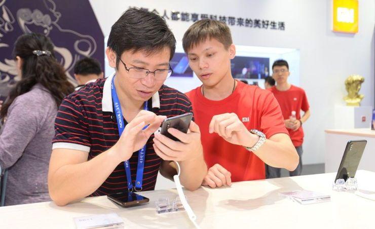 Mi Mix 3 na China Mobile Global Partner Conference