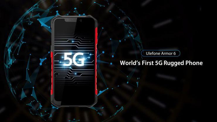 Ulefone pokaże pierwszy smartfon typu rugged z 5G